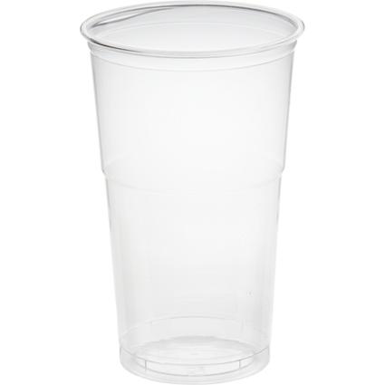 "PAPSTAR Kunststoff-Trinkbecher ""Hurricane"", PET, 0,5 l"