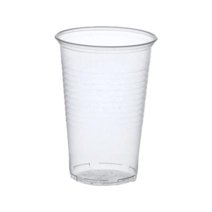 PAPSTAR Kunststoff-Trinkbecher PP, 0,4 l, transparent
