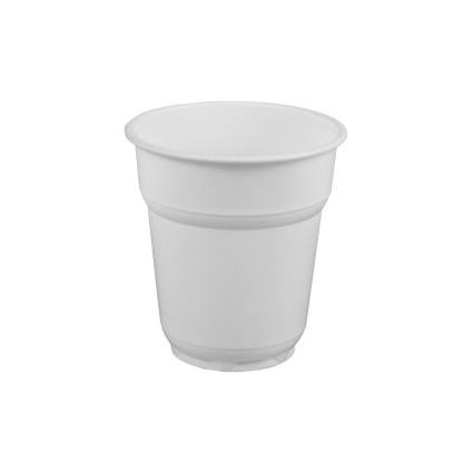 PAPSTAR Kunststoff-Trinkbecher PS, 0,1 l, weiß