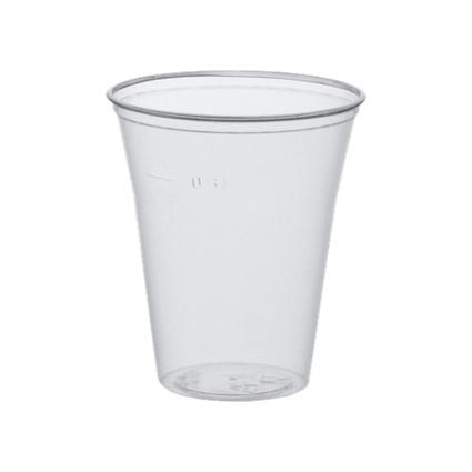 PAPSTAR Kunststoff-Trinkbecher PS, mit Schaumrand, 0,3 l