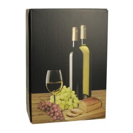 """PAPSTAR Wein-Präsentkarton """"Weißwein"""", für 3 Flaschen"""