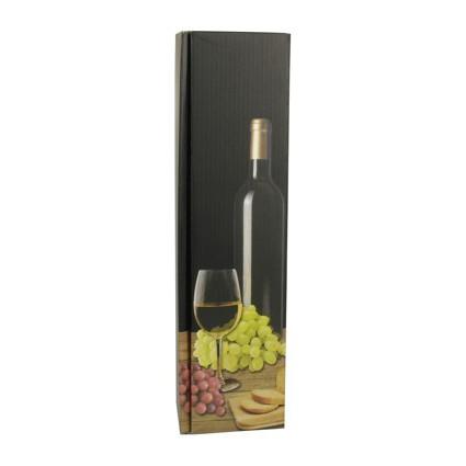 """PAPSTAR Wein-Präsentkarton """"Weißwein"""", für 1 Flasche"""