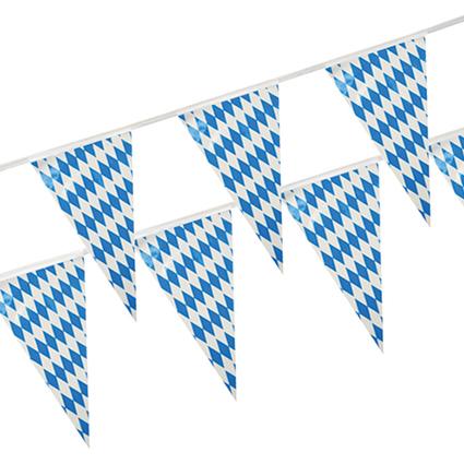 """PAPSTAR Wimpelkette """"Bayrisch Blau"""", aus Folie"""