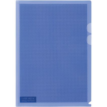 PLUS JAPAN Datenschutz-Sichthülle, DIN A4, blau