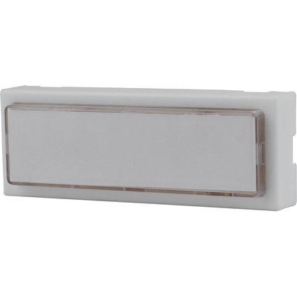 uniTEC Klingeltaster, Kunststoff, 1-fach, beleuchtet