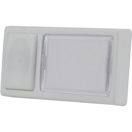 uniTEC Klingeltaster, Kunststoff, 1-fach