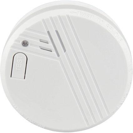 uniTEC Rauchmelder, weiß, Alarmsignal: ca. 85 dB