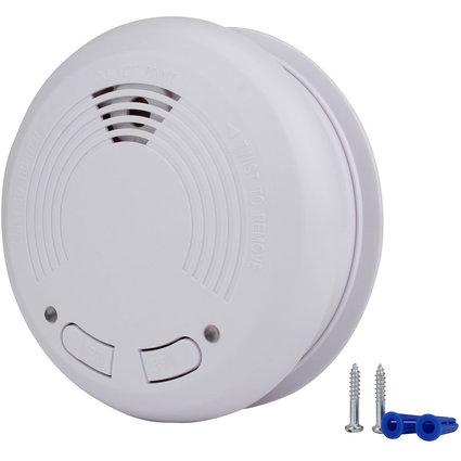 uniTEC Funk-Rauchmelder, weiß, Alarmsignal: ca. 85 dB