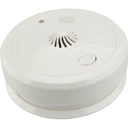 uniTEC Hitzemelder, weiß, Alarmsignal: ca. 85 dB