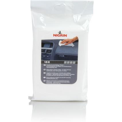 NIGRIN Kunststoff-Pflegetücher, Beutel