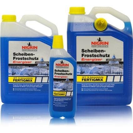 NIGRIN KFZ-Scheiben-Frostschutz Energizer, Fertigmix, 5 l