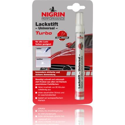 NIGRIN Performance Lackstift Universal Turbo, 4 ml