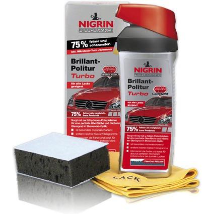 NIGRIN Performance Brillant-Politur Turbo, 500 ml