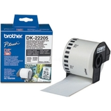 brother dk-22205 Endlos-Etiketten Papier, 62 mm x 30,48 m