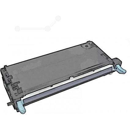 Original Toner für xerox Phaser 6180, cyan HC