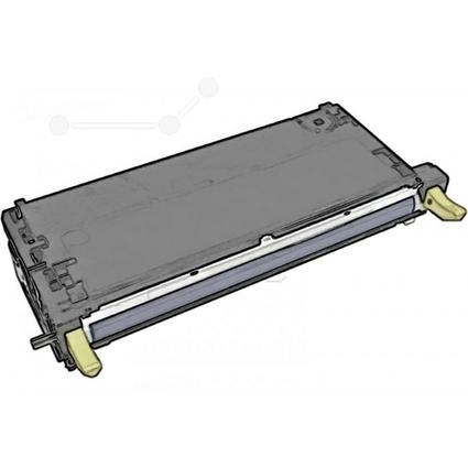 Original Toner für xerox Phaser 6180, gelb HC