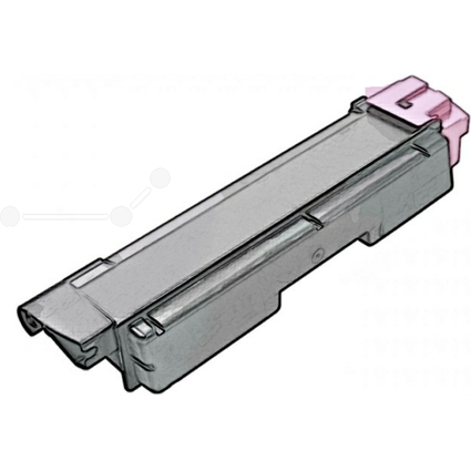JET TEC Toner KY580M ersetzt KYOCERA/mita TK-580M, magenta