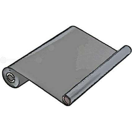 Kores Thermotransferrolle für Panasonic KX-F 1810, schwarz