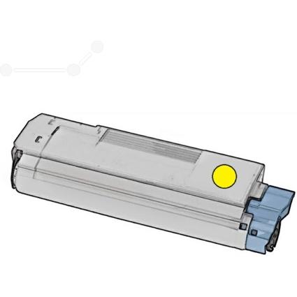 Kores Toner G1334RBG ersetzt OKI 44315305, gelb
