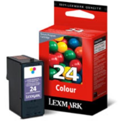 Original Prebate Tinte Nr.24 für LEXMARK Z1400/X3500,farbig