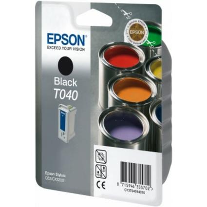 Original Tinte für EPSON Stylus C62, schwarz