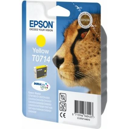 Original Tinte für EPSON Stylus D78/DX4000/DX4050, gelb