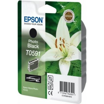 Original Tinte für EPSON Stylus Photo R2400, foto schwarz