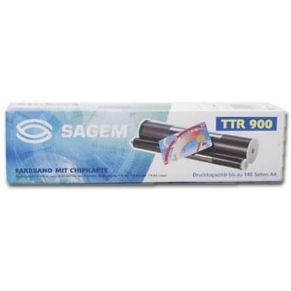 Original Thermotransfer-Rolle für SAGEM Fax 300/302, schwarz