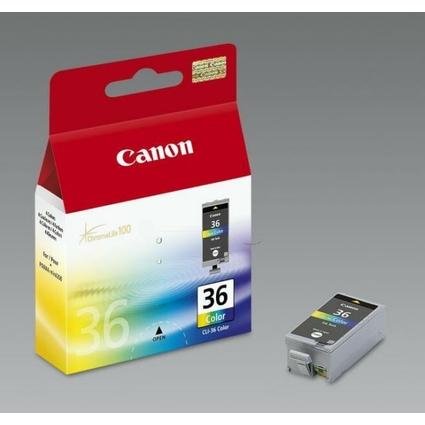 Original Tinte für Canon PIXMA mini 260, CLI-36, 3-farbig