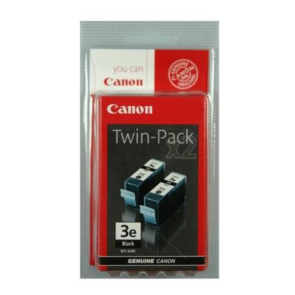 Original Tinte für Canon BJC3000/BJC6000,schwarz, Doppelpack
