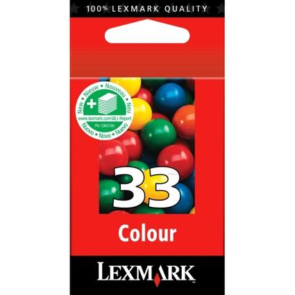 Original Tinte Nr.33 für LEXMARK Z815/Z816/X5250, farbig