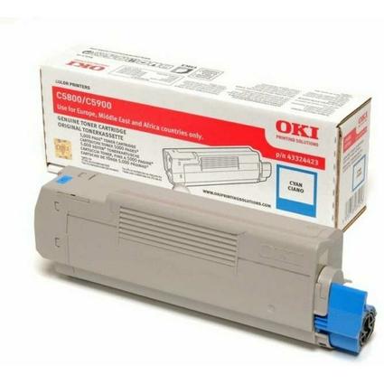 Original Toner für OKI C5800/C5800N/C5900/C5900N, cyan