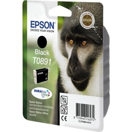 Original Tinte für EPSON Stylus SX200, schwarz
