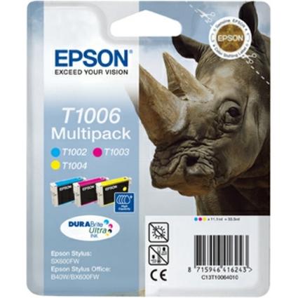 Original Tinte für EPSON Stylus Office B40W, Multipack