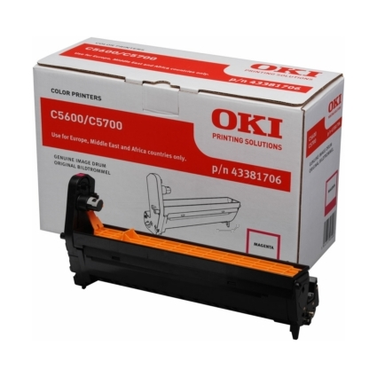 Original Trommel für OKI C5600/C5600N/C5700/C5700N, magenta