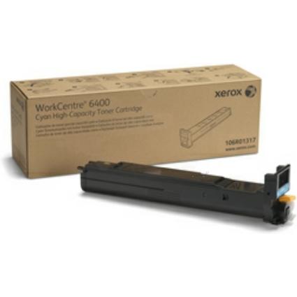 Original Toner für XEROX WorkCentre 6400, cyan, HC