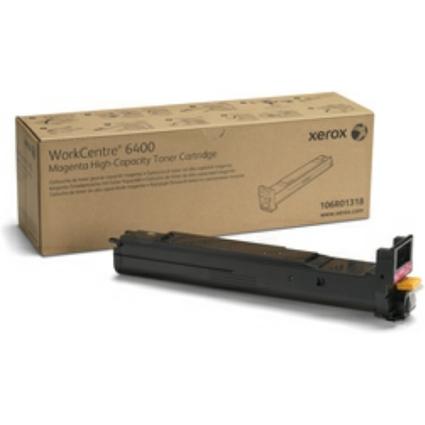 Original Toner für XEROX WorkCentre 6400, magenta, HC