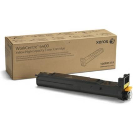 Original Toner für XEROX WorkCentre 6400, gelb, HC