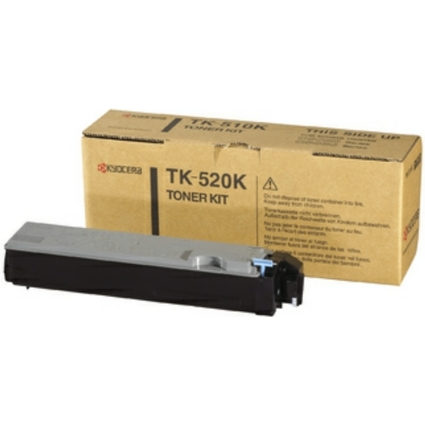 Original Toner für KYOCERA/mita FS-C5015N, schwarz (TK-520K)