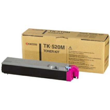 Original Toner für KYOCERA/mita FS-C5015N, magenta (TK-520M)