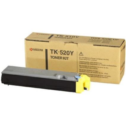 Original Toner für KYOCERA/mita FS-C5015N, gelb (TK-520Y)