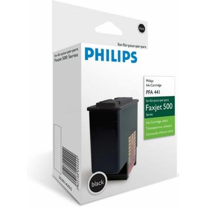 Original Tinte für PHILIPS Fax Jet 520/525/555, schwarz