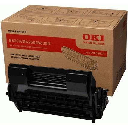 Original Toner + Trommel für OKI B6200/B6300, schwarz