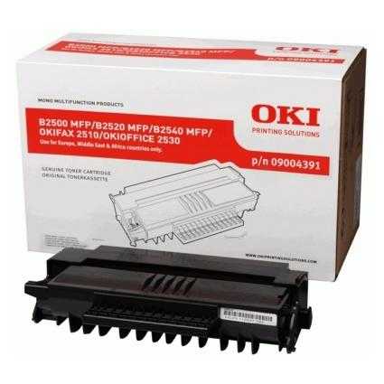 Original Toner für OKI B2500/2520/2540MFP, schwarz HC