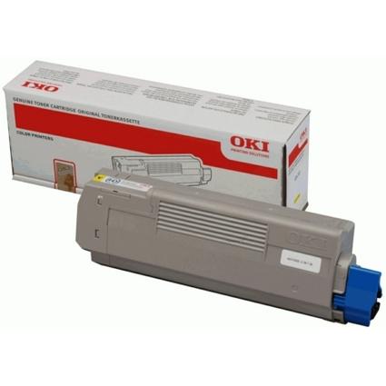 Original Toner für OKI C610/N/DN/DTN, gelb