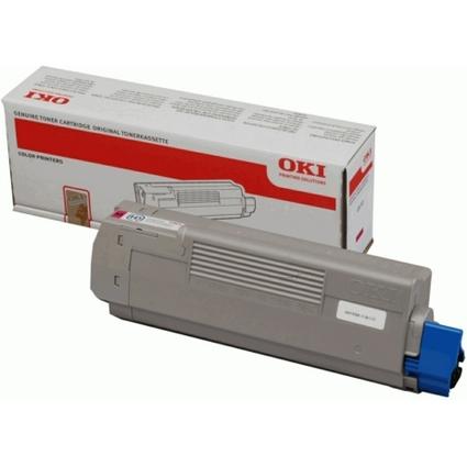 Original Toner für OKI C610/N/DN/DTN, magenta
