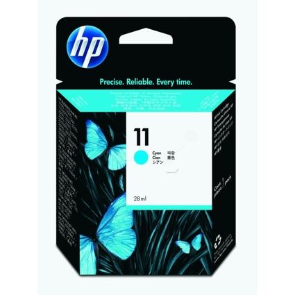 Original Tinte hp 11 (C4836AE) für hp, Inhalt: 28 ml, cyan