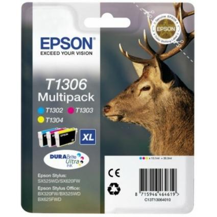 Original Tinte DURABrite für EPSON Stylus SX525WD, Multipack