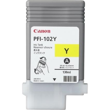Original Tinte für Canon IPF500/IPF600/IPF700, gelb