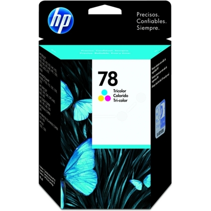 Original Tinte hp 78 (C6578DE) für hp, Inhalt: 19 ml, farbig